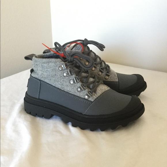 381e72c575f TOMS Cordova Boots Castlerock Grey Light Women's NWT